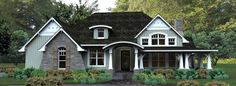 Bungalow Style Home Design 61-116