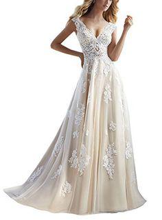Robes de mariée Cheap blancivoire en mousseline de soie Une