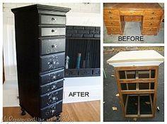 Repurposed Desk into Chest