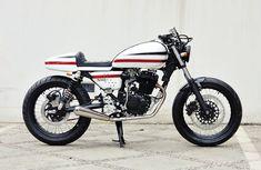 THE WHITE RACER – HONDA GL-200 (TIGER) '11 | StudioMotor