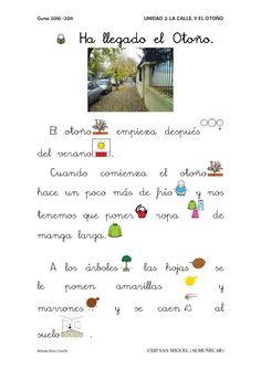 Unidad 2 la calle y el otoño. Belinda