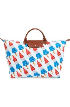 Longchamp x Jeremy Scott Empire State Popsicle Tote available at #Nordstrom