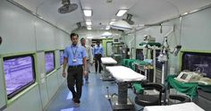 World's first ‪#‎hospital‬ ‪#‎train‬ ....Lifeline Express is run and operated by Impact India ‪#‎Foundation‬ with the help of ‪#‎Indian‬ ‪#‎Railways‬ and Health Ministry of India.. it has 2 ‪#‎surgical‬ operation theater, 3 operating tables, a sterilization area, 2 recovery rooms for ‪#‎patients‬, on-board power ‪#‎generators‬, a pantry car, storage for ‪#‎medical‬ supplies, and accommodation for medical staff.. So far it has ‪#‎medically‬ served over 900,000 people