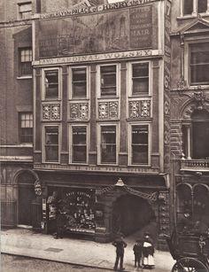 Fleet Street, London. c. Late 19th Century