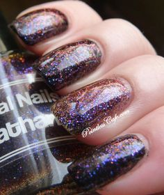 Digital Nails Leviathan over black