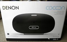 Denon Cocoon iPod Speaker Dock: Apple AirPlay, also streams music wirelessly from Androids and compatible PCs, has access to over 70,000 free internet radio stations. $499.99 Buy It Now! #iPod, #iPad, #Android, #dock, #stereo, #speaker, #boombox, #internet #radio