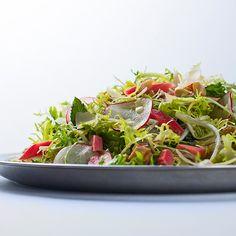 syltede rabarber til salat