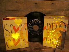 Record Sleeve Luminary Bags Fashioned from Vintage by Oldendesigns, $18.00