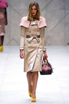 Burberry Prorsum Spring 2013 Ready-to-Wear Collection Slideshow on Style.com