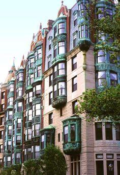 Back Bay, Boston, Massachusetts