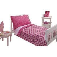 Set Kaleidoscope para cama de transición Niña de 4 piezas Nojo