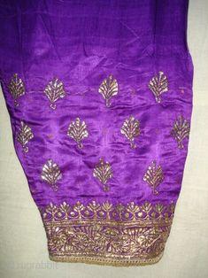 Trouser Satin Silk,Kalchock Zari Embroidery From Gujarat New). Machine Embroidery Designs, Hand Embroidery, 17th Century Fashion, Pakistani Fashion Casual, Punjabi Dress, Afghan Dresses, Beautiful Suit, Wedding Dresses For Girls, Textile Fabrics