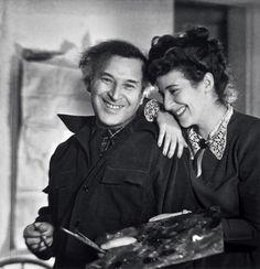 Marc #Chagall e Bella Rosenfeld (www.dueminutidiarte.com)