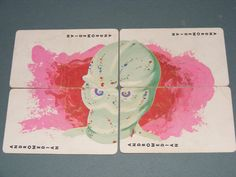 The Outer Limits game card, The Galaxy Being.