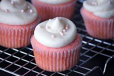 Pink Velvet Cupcakes (w/Buttermilk version)