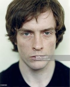 Actor Toby Stephens poses for a portrait shoot in London. All I see is freckles, green eyes and ginger hair