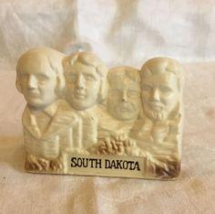 Vintage Mount Rushmore Heads Faces South Dakota Ceramic Souvenir Made In Japan    eBay