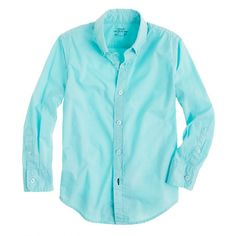 J.Crew - Boys' Secret Wash shirt in garment-dyed