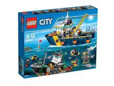 60095 LEGO City Dybhavs-udforskningsskib