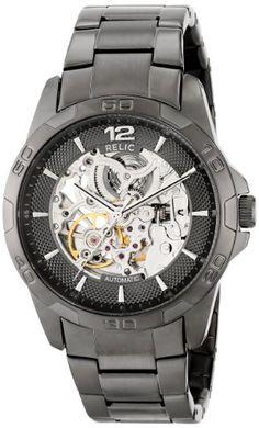 922cd6aa396 Relic Men s ZR11853 Automatic Gunmetal Watch Relic http   www.amazon.com