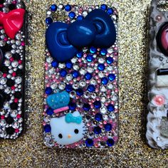 Doll your phone up today:)! Visit my Etsy shop  http://www.etsy.com/shop/Eviesbedazzledcases