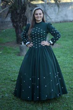 modelos de vestidos de prenda gaucha