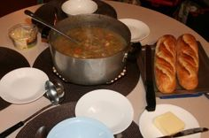 On a cool and rainy day at the cottage, homemade chicken soup is a perfect meal for the whole family. Here's our recipe for preparing it at home before you head to the cabin for the weekend. Homemade Chicken Soup, Chicken Recipes, Cottage Meals, Easy Recipes, Easy Meals, Cabin, Ethnic Recipes, Tips, Food