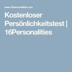 Kostenloser Persönlichkeitstest   16Personalities