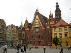 Wrocław town square, Poland #travel #poland