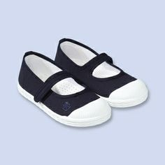 Canvas Mary Jane sneakers - Girl - NAVY BLUE - Jacadi Paris