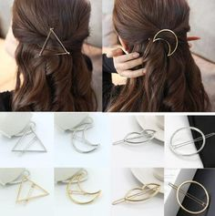 Fun Shapes Designer Hair Clips - Purely Infinity