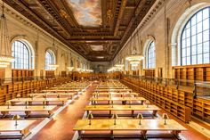 Une somptueuse salle de lecture de la New York Public Library enfin restaurée  2Tout2Rien