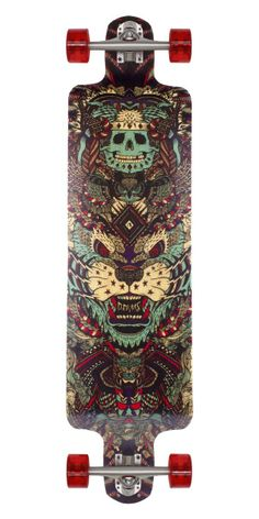 Rayne Nemesis Longboard Skateboard Complete This is one of the best freeride boards on the market! You'll love the big foot platform and deep cave!
