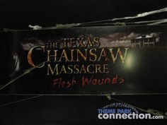 Fans won't want to miss out on owning this Halloween Horror ... Visit http://themeparkconnection.myshopify.com/products/halloween-horror-nights-xvii-texas-chainsaw-massacre-house-universal-orlando-2007-sign?utm_campaign=social_autopilot&utm_source=pin&utm_medium=pin for more info.