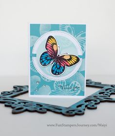 Beautiful Wings Thank You Card