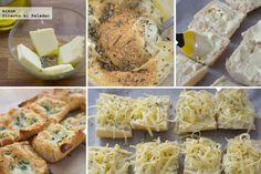 Pan de ajo y queso gratinado - 2 Tapas, Chicken, Cooking, Healthy, Food, Breads, Sandwiches, Pasta, Gratin