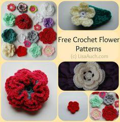 Small Crochet Flower Patterns Free Crochet Patterns