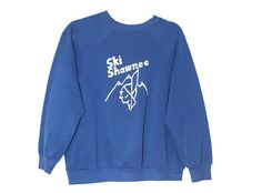 Vintage 1980s Ski Shawnee Mountain Retro Crewneck Sweatshirt Adult Size Small/Medium  Please message me with any questions!  ---------------------------------------------------------------------------------------------  For more sweatshirts & vintage apparel, click HERE: https://www.etsy.com/shop/RawDesignCo?section_id=15701227&ref=shopsection_leftnav_5