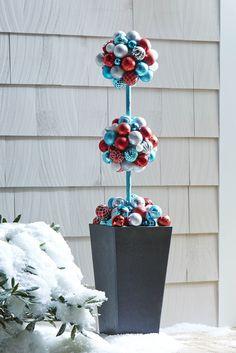 Pin now, make later: Martha's Kissing Ball topiary! | Martha Stewart Living