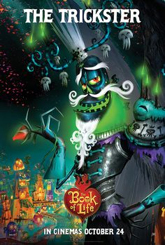 Book of Life - Xibalba, King of the Land of the Remembered. Made out of tar and everything icky in the world with a personality to match.