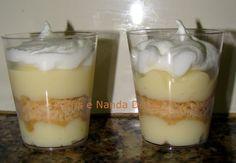 Torta de limão no copinho