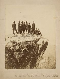 Civil War Photograph of a Gathering of Seven Generals on Point Lookout, - Cowan's Auctions
