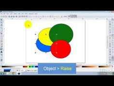 Z-order in Inkscape - YouTube