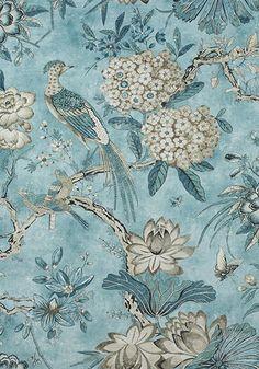Designer Thibaut Villeneuve Fabric By The Yard | Etsy