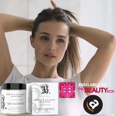 #biotin #collagen #avocado #vitamin so many amazing ingredients in our new #hairmask available on Amazon, Walmart, Btheproduct.com Natural Hair Mask, Natural Hair Styles, Biotin Hair Growth, Dry Damaged Hair, Vitamin E Oil, Avocado Oil, Hair Type, Healthy Hair, Collagen