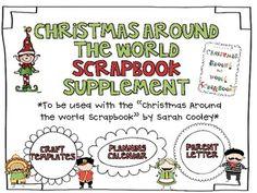 Christmas Around the World Scrapbook {Supplement}