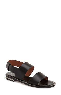 Givenchy 'Romane' Sandal - looks like the perfect black sandal to me!