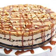 The Ultimate Peanut Butter-Lovers Pie   Save this recipe: https://taste.md/2n7Vdx8 #tasterich #kitchenaid #kitchenware #foodporn #food #kitchen#Easycooking #cookingmate #eatclean #livingwell #eatwell #cleaneating #healthyeating #ecomom #cookinglovers #cookingtools  #cookingutensil