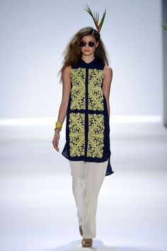 Mara Hoffman SS13...more tops that I like...