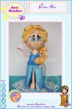 Reina Elsa en modelado 3D